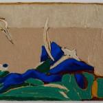 Feature of Landscape 1_oil & pigment on canvas_25x35cm_2017